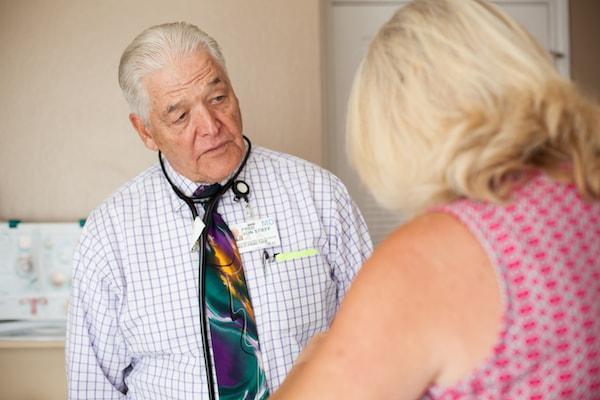 Detox Concord CA - Image of Dr. Von Stieff providing inpatient care